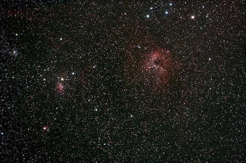 ぎょしゃ座の散光星雲