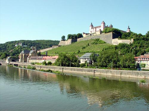 ビュルツブルグ マリエンベルク要塞