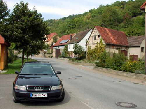 ビュルツブルグからローテンブルグへ